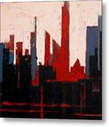 City Abstract No. 1 Metal Print