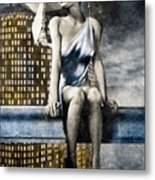 City Angel -2 Metal Print