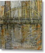 City Bridge Metal Print