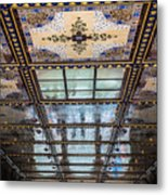 City Ceilings Metal Print