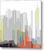 City Color Metal Print