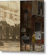 City - Elegant Apartments - 1912 - Side By Side Metal Print