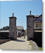 City Gate Of St Augustine Metal Print