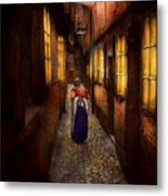 City - Germany - Alley - A Long Hard Life 1904 Metal Print