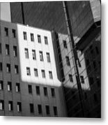 City Grid Metal Print
