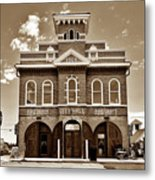 City Hall And Fire Department S Metal Print