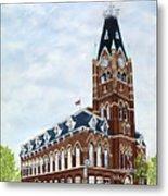 City Hall circa1873 Belleville Ontario Metal Print