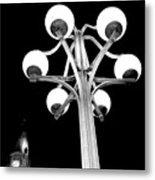 City Hall Lamp Metal Print