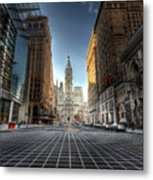 City Hall Metal Print