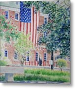 City Hall Old Town Alexandria Virginia Metal Print