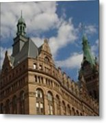 City Hall Roof And Tower Metal Print