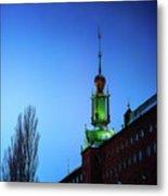 City Hall Tower Metal Print