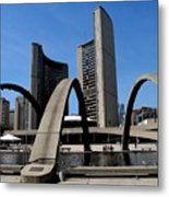 City Halll Arches Metal Print