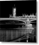 City Lights London Metal Print