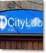 City Loos Metal Print