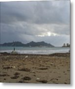 City Lost To The Sea Metal Print