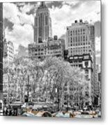 City Of Cabs Metal Print