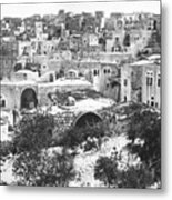 City Of David Bethlehem Metal Print by Munir Alawi