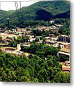 City Of Gatlinburg Metal Print