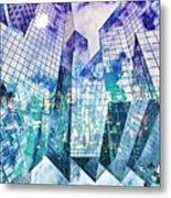 City Of Glass Metal Print