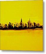 City Of Gold Metal Print