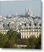 City Of Paris Metal Print