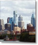City Of Philadelphia Metal Print
