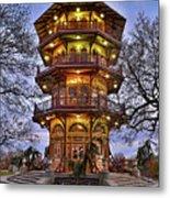 City Park Pagoda Metal Print