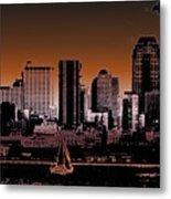 City Sailin 2 Metal Print