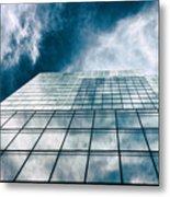 City Sky Light Metal Print