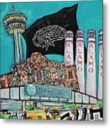 City Spirit Metal Print