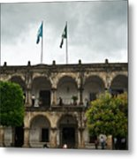 City Square Antigua Guatemala Metal Print