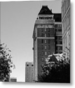 City Structure  Metal Print