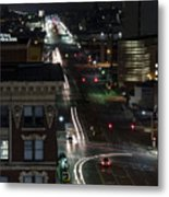 City Trails Metal Print