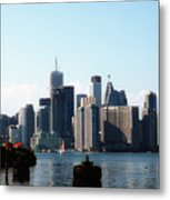 City View From The Island  Metal Print