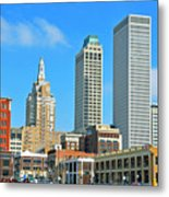 City View Metal Print