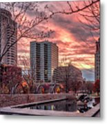 Citygarden Gateway Mall St Louis Mo Dsc01485 Metal Print