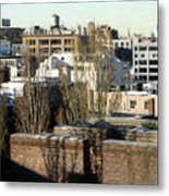 Cityscape Queens Metal Print