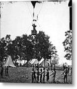 Civil War: Balloon, 1862 Metal Print