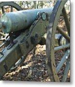 Civil War Cannon Metal Print