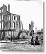 Civil War: Fall Of Richmond Metal Print