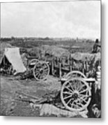 Civil War: Fortifications Metal Print