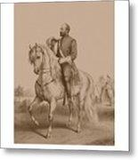 Civil War General James Garfield Metal Print