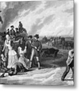 Civil War: Martial Law Metal Print by Granger