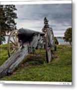 Civil War Rifle Metal Print