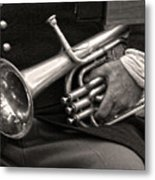 Civil War Trumpet Metal Print