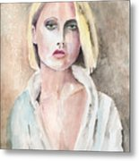 Claire - The Engaging Spirit Metal Print