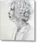 Claire Metal Print