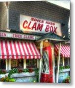 Clam Box Restaurant - Ipswich Ma Metal Print by Joann Vitali