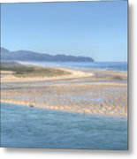 Clam Digging Morning 0200 Metal Print